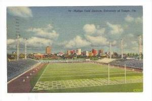 Phillips Field Stadium, University of Tampa, Florida, PU-1952
