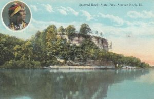 STARVED ROCK , Illinois, 1900-10s; Starved Rock, State Park