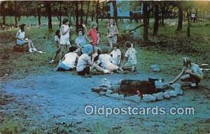 Girl Scout Resident Camp Marlow, Oklahoma, USA Postcards Post Cards Old Vinta...