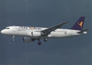AIR ONE, A320-214, unused Postcard