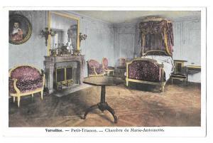 France Versailles Petite Trianon Chambre Marie Antoinette