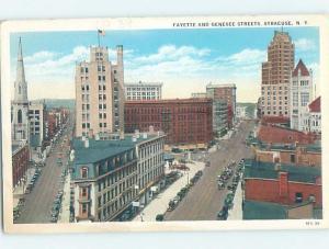 W-Border STREET SCENE Syracuse New York NY F1204