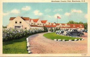 New Hampshire Manchester Country Club Curteich
