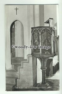 cu1903 - Interior of St. James the Great Church, in Castle Acre  - Postcard