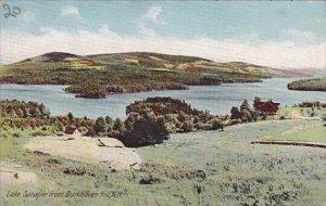 Lake Sunapee From Burkhaven Hill New Hampshire