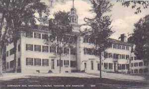 New Hampshire Hanover Dartmouth Hall Dartmouth College