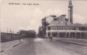 Lighthouse, Port Said, Egypt, 00-10s