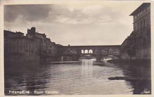 RP, Ponte Vecchio, Bridge, Firenze (Tuscany), Italy, 1920-1940s