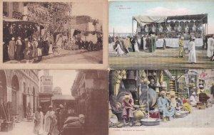 Caire Egypt Cairo 4x Antique Market Postcard s