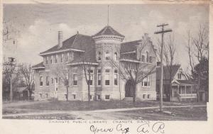 CHANUTE, Kansas, PU-1906; Chanute Public Library