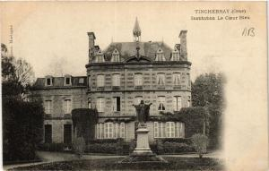 CPA   Tinchebray(Orne) - Isnstitution Le Coeur Bleu (435427)