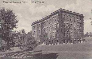 New Hampshire Hanover Wilder Hall Dartmouth College Albertype