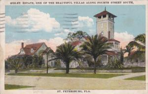 Florida St Petersburg Sibley Estate On Fourth Street South 1921