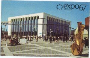 Iran Pavilion Expo67 Montreal Quebec Canada QB 1967