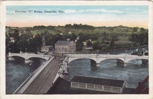 Concrete Y Bridge,  Zanesville,  Ohio,  PU_1929
