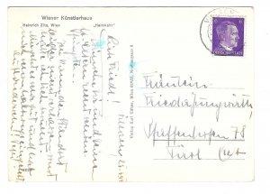 Heinrich Zita Heimkehr Homecoming Nude Sculpture Karl Kuhne RPPC 4X6 Postcard