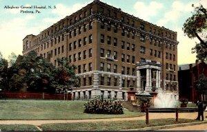 Pennsylvania Pittsburgh Allegheny Central Hospital Curteich