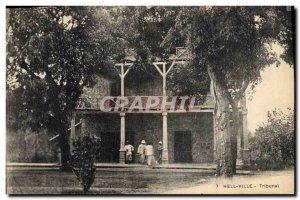 Postcard Old Hell-Ville Court
