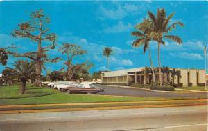 BOYNTON BEACH  FLORIDA ~FIRST FEDERAL SAVINGS & LOAN BANK OFFICE~POSTCARD 1968