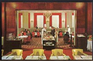 31520) California SAN FRANCISCO Interior Clift Hotel The French Room - Chrome
