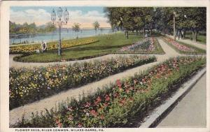 Flower Beds River Common Wilkes Barre Pennsylvania