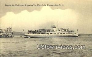 Steamer Mt. Washington II Lake Winnipesaukee NH Unused