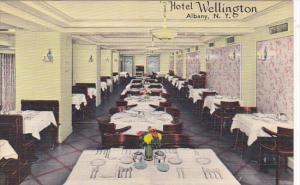 New York Albany Interior Dining Room Hotel Wellington
