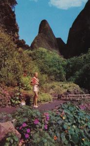 Hawaii Maui The Needle In Iao Valley