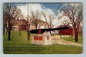 Minneapolis MN-Minnesota, Spanish Cannon, State Soldiers Home, Vintage Postcard