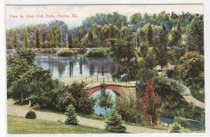 Glen Oak Park Peoria Illinois 1910c postcard