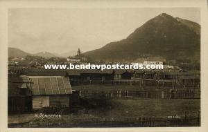 slovakia, RUŽOMBEROK, Partial View (1930s) V. Halla RPPC