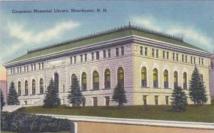 Carpenter Memorial Library, Manchester, New Hampshire, 30-40s