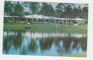 P2141, vintage postcard the king,s inn and golf club freeport bahamas used