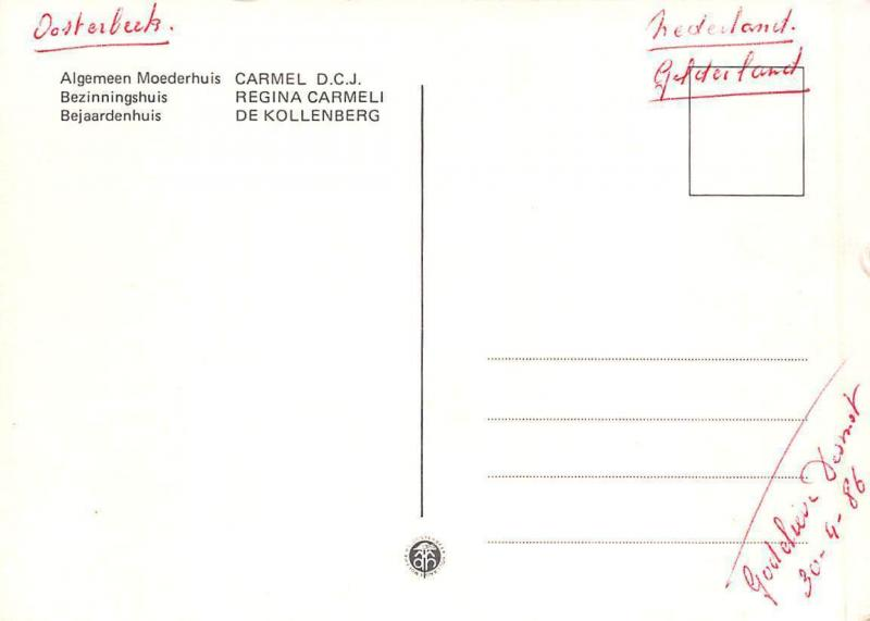 Algemeen Moederhuis Bezinninghuis Regina Carmeli de Kollenberg