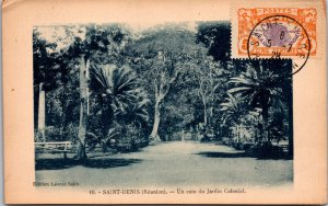 Saint Denis Reunion Postcard used 1928