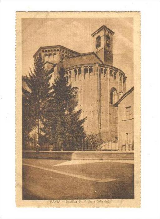 Pavia , ITALY , 00-10s   Basulica S. Michele (Abside)