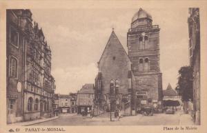 PARAY-le-MONIAL , France , Place de la Mairie , 00-10s