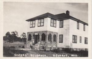 RP: RESERVE , Wisconsin , 40-50s; Sisters' Residence