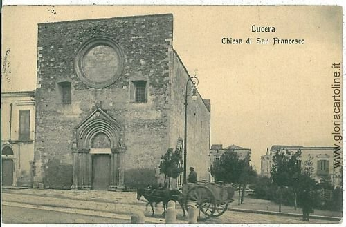 07857 - CARTOLINA d'Epoca - FOGGIA: LUCERA
