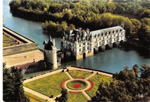 BR76803 chenonceaux vue aerienne du chateau france