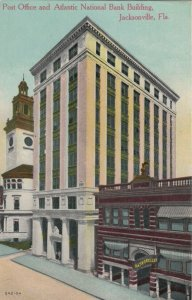JACKSONVILLE , Florida , 1900-10s ; Post Office & Atlantic Bank Building