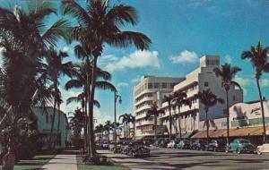 Florida Miami Beach Lincoln Road Shopping District 1955