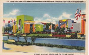 DALLAS, Texas, 1930-1940's; Exhibit Building, State Fair Of Texas