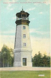 Manchester New Hampshire~Weston Observatory~Oak Hill~Derryfield Park~1911 PC
