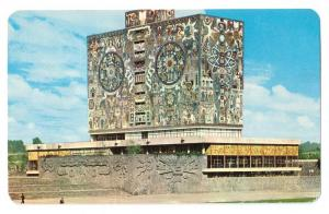 Mexico National University Mosaic Mural Sc# C544