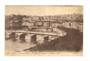La Croix-Rousse, Les Ponts Du Change Et La Feuillee, Lyon (Rhône), France, 1...