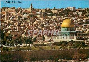 Postcard Modern Jerusalem