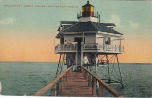 GALVESTON , Texas, 1900-1910's; LIGHTHOUSE