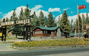 BANFF , Alberta , Canada , 1950-60s ; Rainbow Chalets