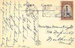 North Bay Ontario~Main Street~Arcadian Tea Room~Canadian Nat'l Railways~1939 PC